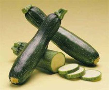 Courgettes Green
